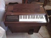 "1960's Model 3724 Organ. 30"" Long 18"" wide 41"" Height."