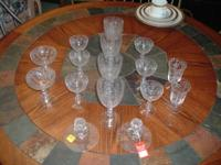 ETCHED VICTORIAN TIME GLASS COLLECTION COLLECTION