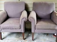 Free. 2 matching Ethan Allen chairs. Super comfy!!
