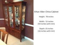 Type: Dining Room Type: China cabinet Amazing china