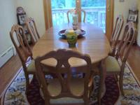 ( ). Ethan Allen Country French Provence Dining Room