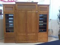 Ethan Allen Country Colors Entertainment Center Armoire