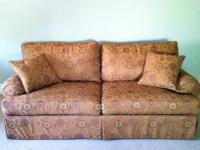 Beautiful, custom Ethan Allen Franklin sleeper sofa
