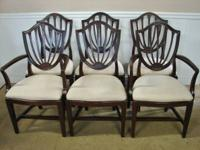 UP FOR SALE WE HAVE THIS LOVELY SET OF MAHOGANY INLAID
