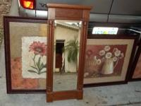 This Ethan Allen Mirror still has original price tag of