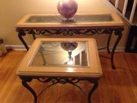 "Ethan Allen table ""new country by ethan allen adam"