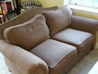 $600 -- Ethan Allen sofa and loveseat in very good