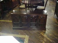 Solid cherry credenza made by Ethan Allen in very clean