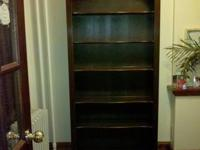 These are vintage 1990?s Ethan Allen items, bookcase