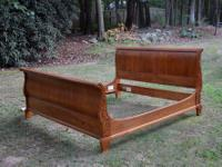 "We are selling a beautiful Ethan Allen ""Sleigh Bed"""