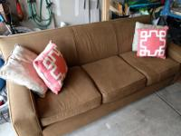 This is a great couch by Rowe Furniture. It is gently