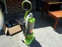 I have a Eureka Optima lightweight upright vacuum. All