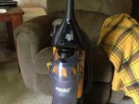 Eureka upright bagless 12 amp vacuum cleaner. Used