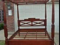 I have a beautiful Canopy Bed that we bought in Paris,