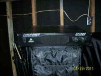 For Sale is a like new Europower 1500 power amp. Amp is