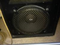 Bought the speaker from a pal a mine.' Is a electro