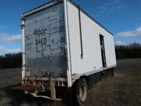 Evans 28 single axle w/dolly semi trailer, storage,