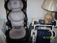 I have a like new even flow childs car seat. The back