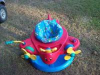 i have an evenflo (airplane)exersaucer 40.00 i have a