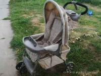 Evenflo Stroller in good condition. Large basket
