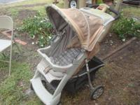 Stroller is made by Evenflo ComfortFold, and is in very