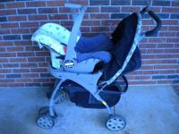Evenflo baby traavel system .Features Stand,Hold,Fold.
