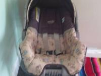nice. and clean evenflo car seat with base $20 call or