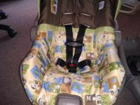 I have an Evenflo brand car seat/infant carrier that