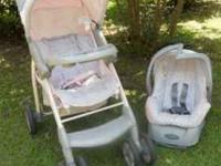 Evenflo Aura - Carolina Travel System - $85 Stroller,