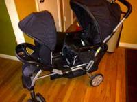 Evenflo Double stroller in good condition text, call or