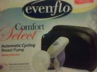 gently used, Evenflo Comfort Select automatic cyling