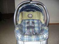 I have a Evenflo Embrace Infant Car Seat & base for