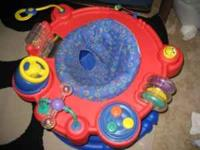 EvenFlo Exersaucer in excellent condition. Very gently