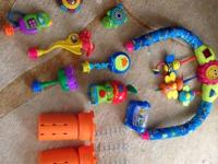 Selling our Exersaucer with a few extra devices that I