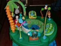 Evenflo 3 stage exersaucer. This toy grows with baby.