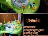 evenflo exersaucer with music, lights and *****