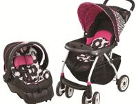 The Journey 300 Stroller with the Embrace 35 Infant