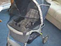 """Evenflo """"Journey"""" stroller/travel system. Excellent"""
