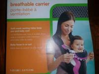 For children 7 - 25 lbs, removable bid This carrier is