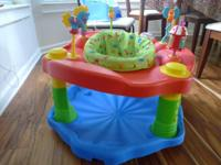 Barely used Exersaucer:       Variety of