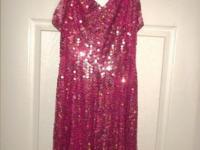 Evening Dresses: $50.00 ea. Royal Blue, Long Sequin w/