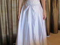 I have a Mary's Bridal size 8 wedding gown for sale.