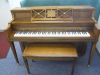 Selling an Everett console piano in great condition.