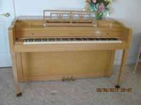 Everette Piano for sale. I would like $350 or best