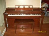 Everette Piano for sale $500.00--Well taken care of and