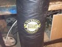 I have an Everlast Punching Bag, it was my uncles and