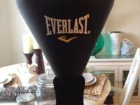 Everlast reflex punching bag- fill base with sand or