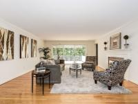 Spacious five bedroom brick two-level rambler with open