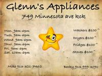 ** GLENN'S APPLIANCES **    STORE NUMBER: MIKE   OWNERS
