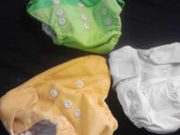 have for sale a full set of gro-baby cloth baby diapers